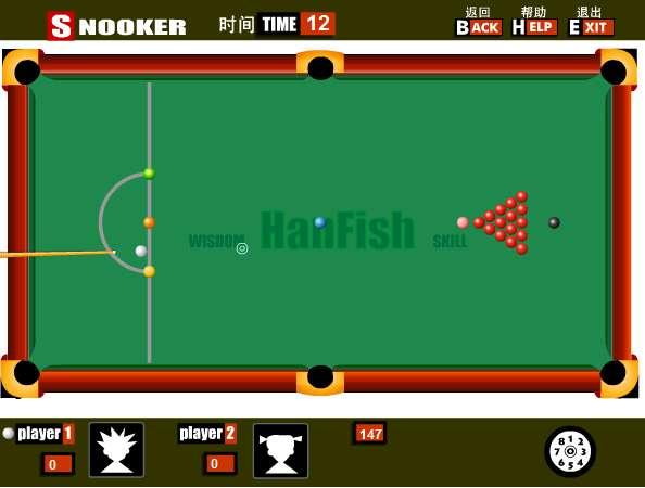 snooker kostenlos spielen