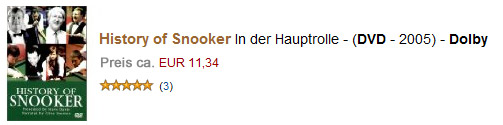 Snooker Preisgelder