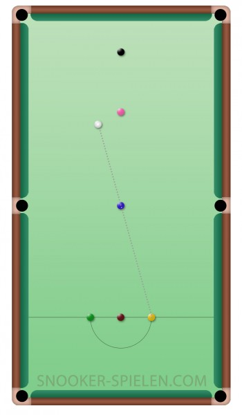 Snooker nach Foul