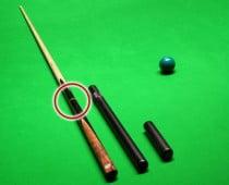 Snookerqueue-Teilung
