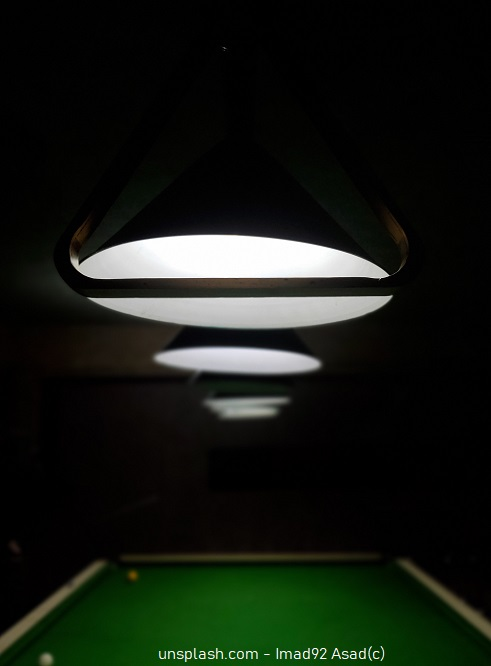 Pooltisch Lampe